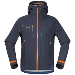 Storen Jacket Night Blue / Dusty Blue / Pumpkin