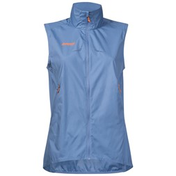 Slingsby Ultra Lady Vest Dusty Light Blue / Pumpkin