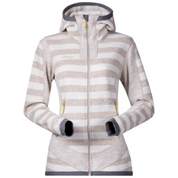 Hollvin Wool Lady Jacket Cream / Light Beige Striped
