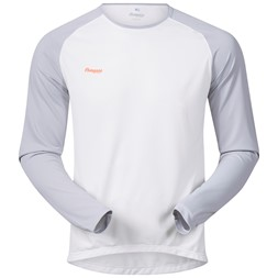 Slingsby Long Sleeve White / Aluminium / Pumpkin