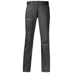 Brekketind Lady Pants Solid Charcoal