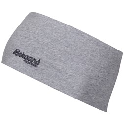 Youth Cotton Headband Grey Melange