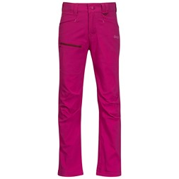 Lilletind Light Softshell Kids Pants Cerise / Jam / Light Cerise
