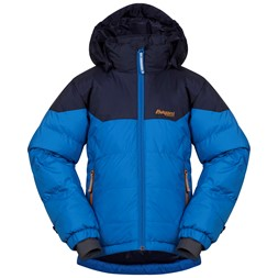 Ruffen Down Kids Jacket Athens Blue / Navy / Desert