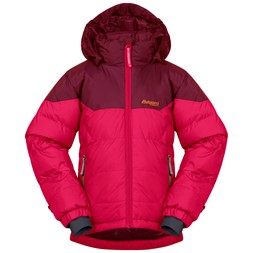 Ruffen Down Kids Jacket Dark Sorbet / Jam / Desert