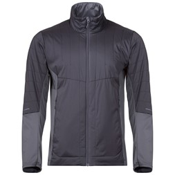 Fløyen Light Insulated Jacket Solid Dark Grey / Solid Charcoal
