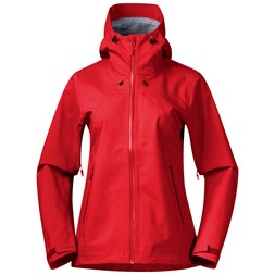 Breheimen 3L W Jacket Fire Red / Red