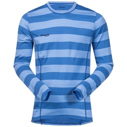 Soleie Shirt Mid Blue / Summerblue Striped