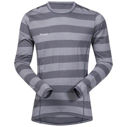 Soleie Shirt Solid Dark Grey / Solid Grey Striped