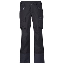 Hafslo Lady Pants Solid Charcoal