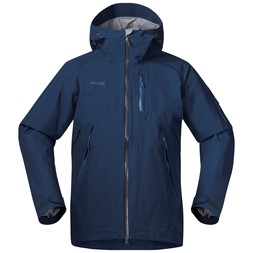 Haglebu Jacket Dark Steel Blue Melange / Steel Blue