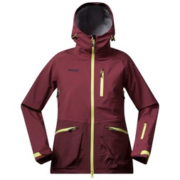 Myrkdalen Lady Jacket Ruby / Dark Ruby / Spring Leaves