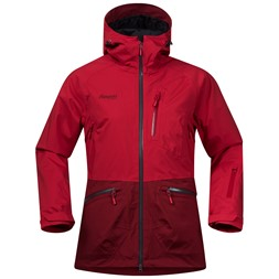 Myrkdalen Insulated Lady Jacket Red / Burgundy