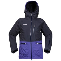 Myrkdalen Insulated Lady Jacket Night Blue / Funky Purple / White