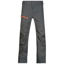 Storen Pants Solid Dark Grey / Pumpkin