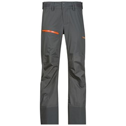 Storen Lady Pants Solid Dark Grey / Pumpkin
