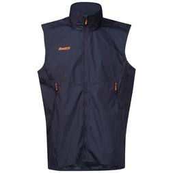 Slingsby Ultra Vest Night Blue / Pumpkin