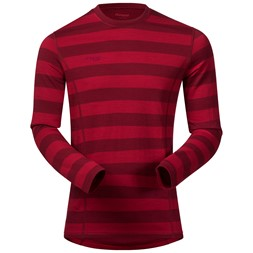 Akeleie Shirt Red / Burgundy Striped