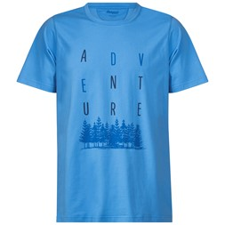 Adventure Tee Summersky / Fjord / Dark Steel Blue