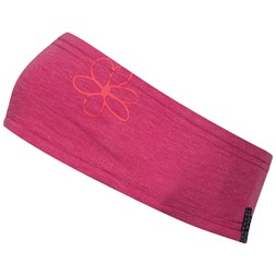 Cecilie Summer Headband Bougainvillea Melange / Strawberry