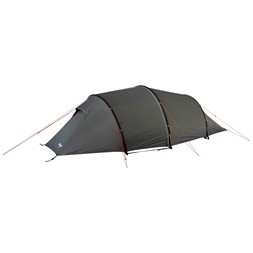 Romsdal 4-Person Tent Solid Light Grey / Bright Magma