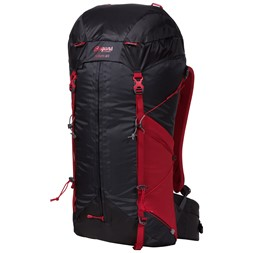 Helium W 40 Solid Charcoal / Red