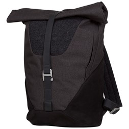 Oslo Roll-Top Daypack Solid Charcoal / Black