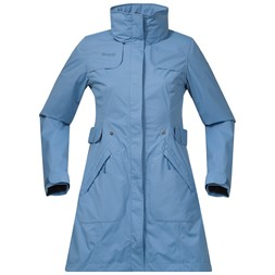 Giske Lady Coat Dusty Light Blue
