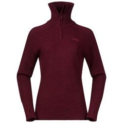 Ulriken Lady Jumper Wine Melange