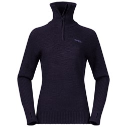 Ulriken Lady Jumper Purple Velvet Melange