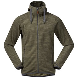 Hareid Fleece Jacket Seaweed Melange