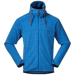 Hareid Fleece Jacket Athens Blue Melange