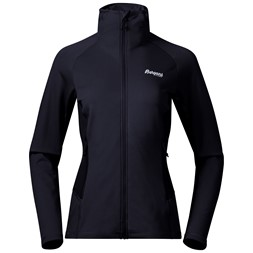 Valldal Fleece W Jacket Dark Navy / Aluminium