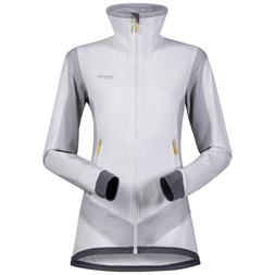 Roni Lady Jacket White / Aluminium