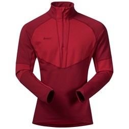 Roni Half Zip Burgundy / Red