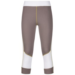 Roni ¾ Lady Tights Light Cocoa / White / Yellowgreen