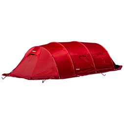 Helium Expedition Tunnel 4 Tent Red