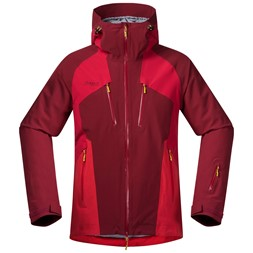 Oppdal Insulated Jacket Burgundy / Red / Red