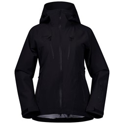 Oppdal Insulated Lady Jacket Black / Solid Charcoal
