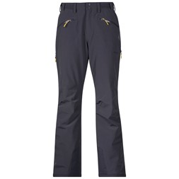 Oppdal Lady Pants Solid Charcoal