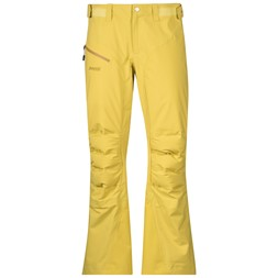 Hemsedal Hybrid Lady Pants Yellowgreen