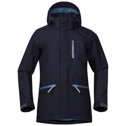 Alme Insulated Youth Jacket Dark Navy / Night Blue / Steel Blue