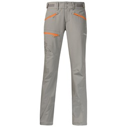 Brekketind Lady Pants Solid Grey / Pumpkin
