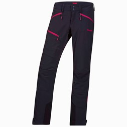 Okla Lady Pants Black / Hot Pink