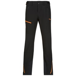 Osatind Lady Pants Black / Pumpkin