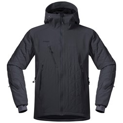 Kongsberg Insulated Jacket Solid Charcoal / Black