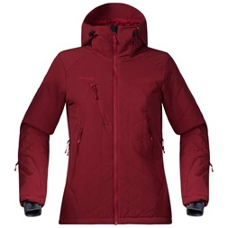 Kongsberg Insulated Lady Jacket Burgundy / Red