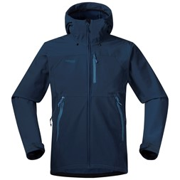 Selfjord Jacket Dark Steel Blue / Steel Blue