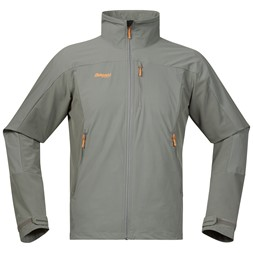 Torfinnstind Jacket Solid Grey / Pumpkin