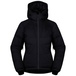 Sauda Down Lady Jacket Black / Solid Charcoal